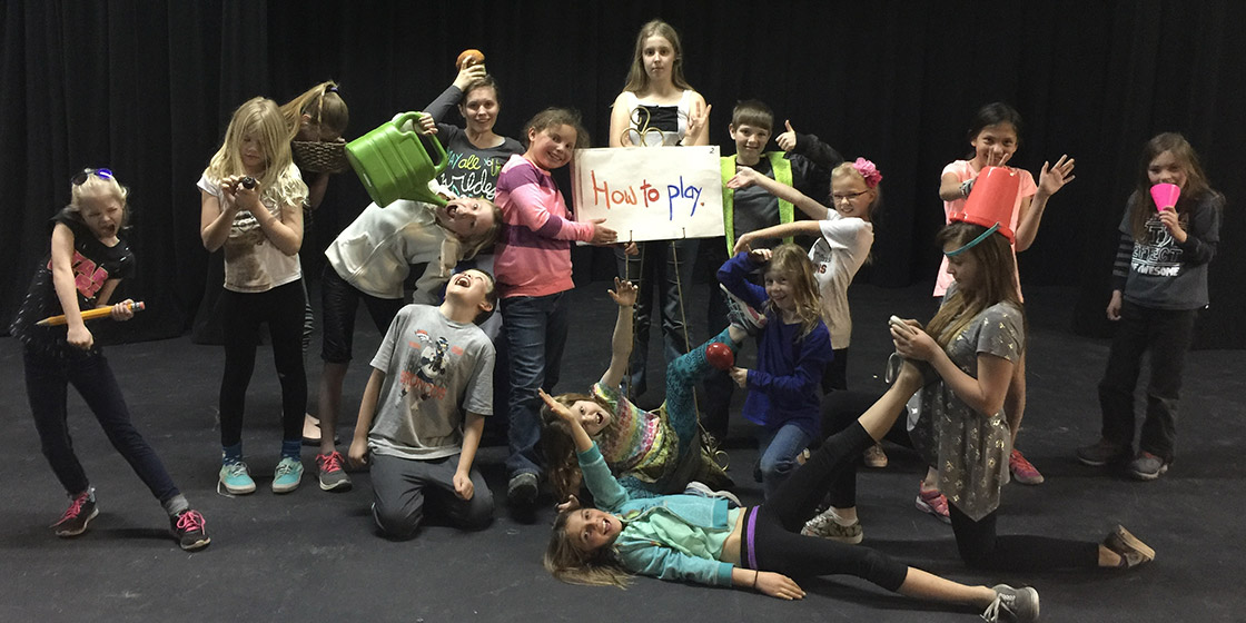 Kids' Improv Troupe to Perform at PSCA on Sunday, March 20