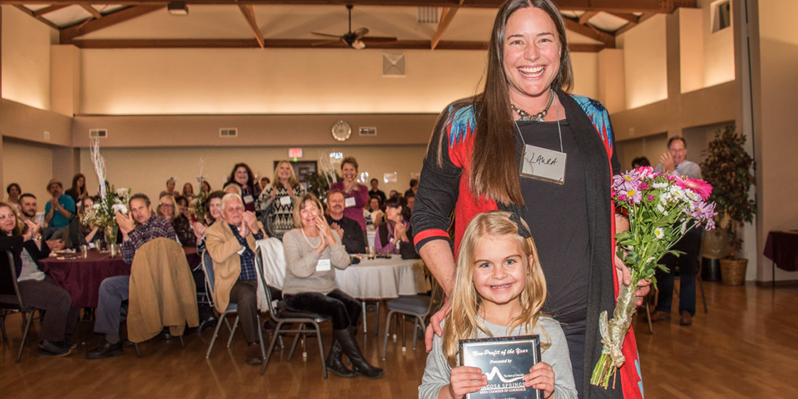 Thingamjig Theatre Company Honored at Pagosa Chamber Event